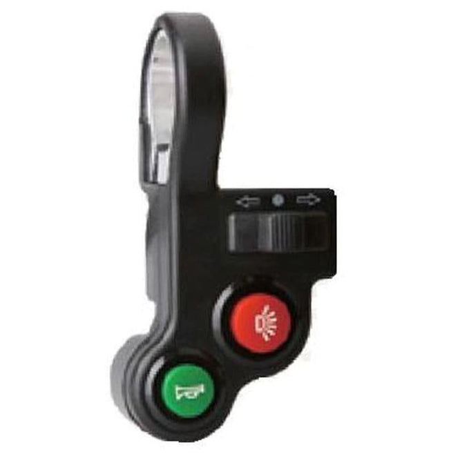 Bagi Bike Light Switch with Horn & Turn Signal-E-Bike Parts-Bagibike-Voltaire Cycles of Verona