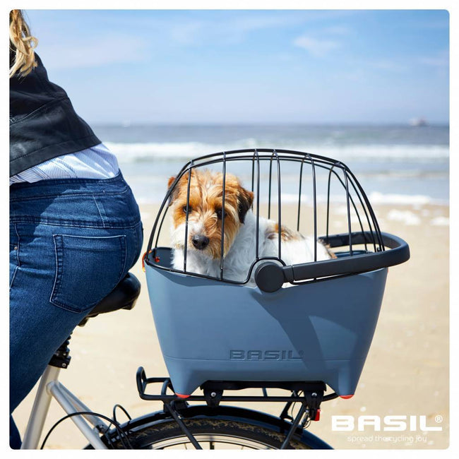 Basil Buddy Rear Bicycle Pet Basket - #1 Rated-Baskets-Basil-Voltaire Cycles of Verona