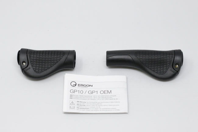 BH Easy Motion Bicycle Ergo Grips-Bicycle Grips-BH Easy Motion-Black-Voltaire Cycles of Verona