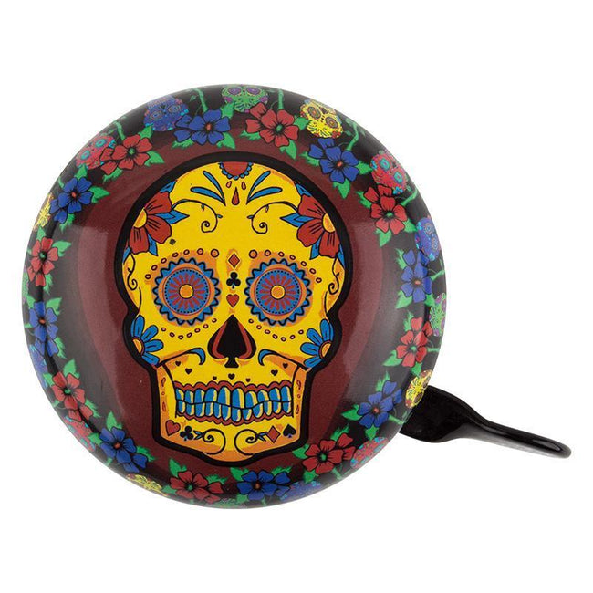 Bicycle Bell Sugar Skull Large-Bicycle Bells-Clean Motion-Voltaire Cycles of Verona