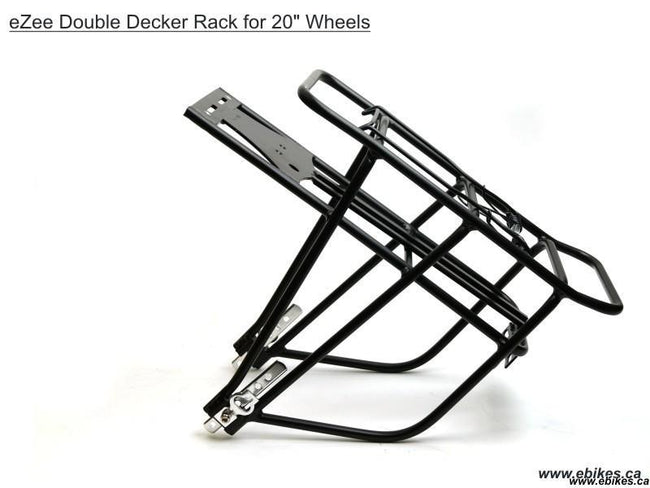 Bicycle Rear Battery Rack - Batt-Rack-DDsm-Bicycle Racks - Bike Mounted-Grin Technologies-Voltaire Cycles of Verona