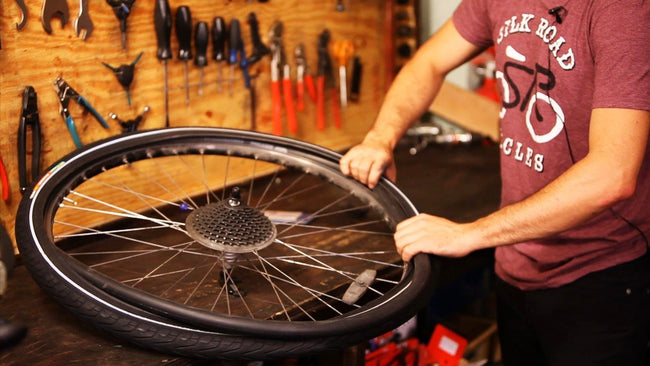 Bike Repair Services - Tube and Tire-Service-Voltaire Cycles Verona-Voltaire Cycles of Verona