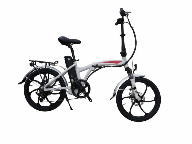 Bintelli F1 Folding Electric Bike-Electric Bicycle-Bintelli-Charcoal-Voltaire Cycles of Verona