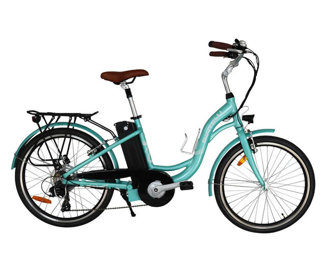 Bintelli Journey Step Through Electric Bike-Electric Bicycle-Bintelli-Spearmint-Voltaire Cycles of Verona