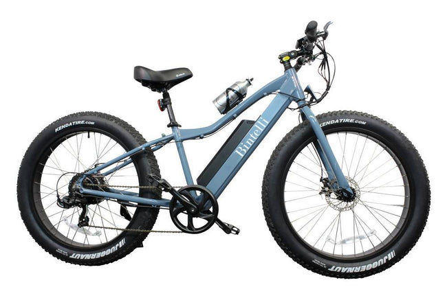 Bintelli M1 Electric Fat Bike-Electric Bicycle-Bintelli-Anvil Blue-Voltaire Cycles of Verona