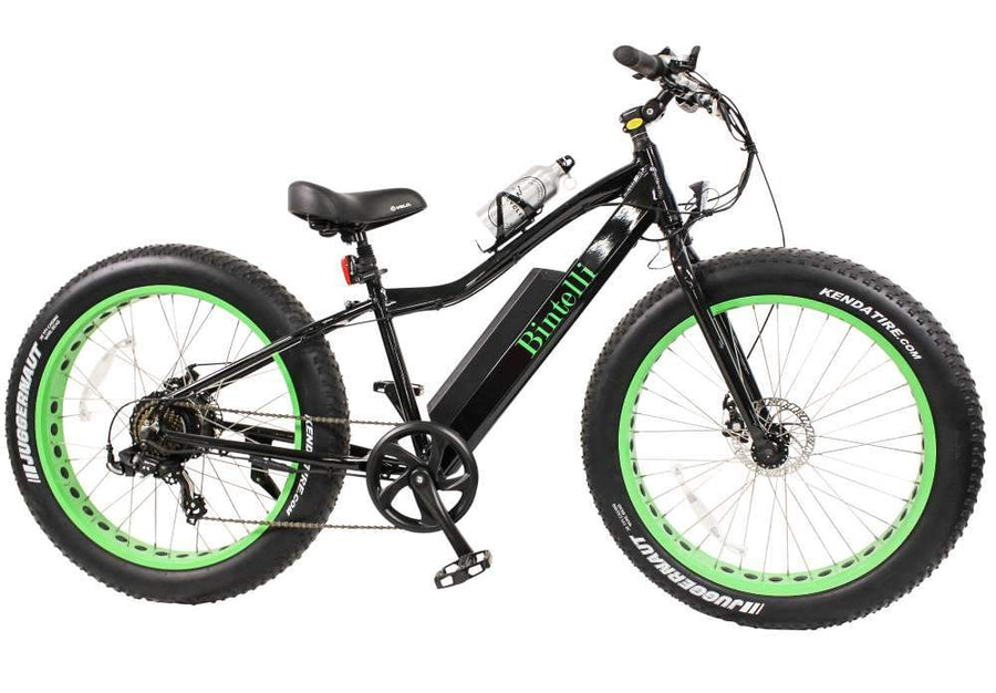 Bintelli M1 Electric Fat Bike-Electric Bicycle-Bintelli-Black Out-Voltaire Cycles of Verona
