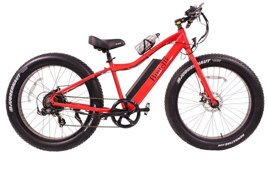 Bintelli M1 Electric Fat Bike-Electric Bicycle-Bintelli-Red-Voltaire Cycles of Verona