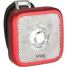 Blinder MOB - Front Bicycle Light USB Rechargeable by KNOG - Black/White - Eyeballer-Bicycle Lights-KNOG-Voltaire Cycles of Verona