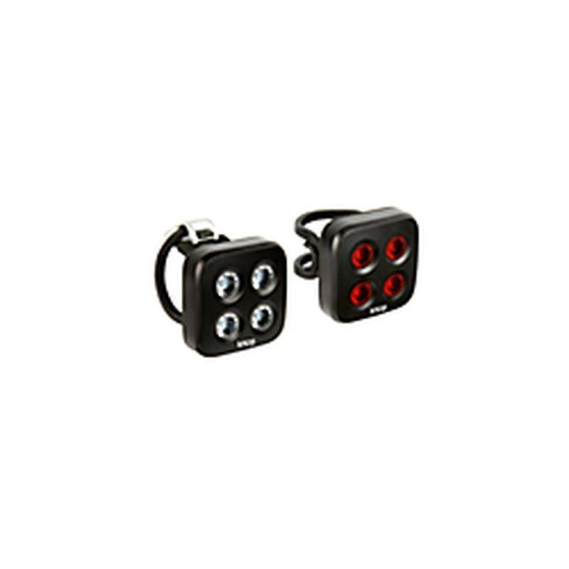 Blinder Mob The Face Bicycle Light Twin Pack-Bicycle Lights-KNOG-Voltaire Cycles of Verona