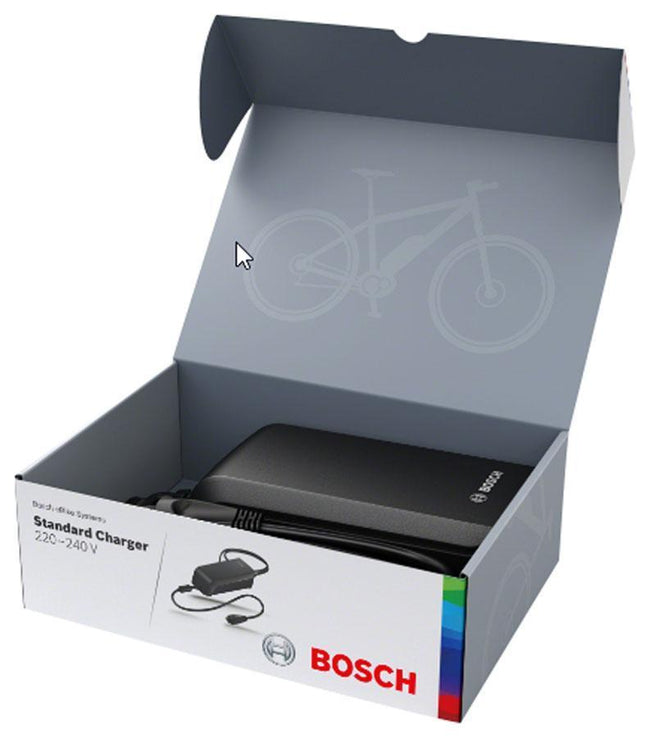 Bosch Standard E-Bike Charger - 4A-Battery Chargers-Bosch-Voltaire Cycles of Verona