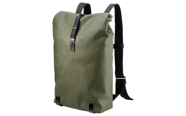 Brooks Pickwick Cotton Canvas 26L Forest-Backpacks-Brooks England-Voltaire Cycles of Verona