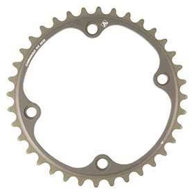 Campagnolo Fc-Sr234 Chainring Teeth: 34 Speed: 11 Bcd: 112 Bolts: 4 Inner Aluminum Grey-Chainrings-Campagnolo-Voltaire Cycles of Verona