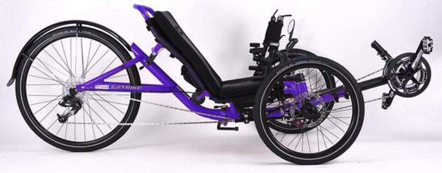 Catrike 5.5.9 Recumbent Trike-Recumbent Trikes-Catrike-Candy Purple-Standard-Voltaire Cycles of Verona
