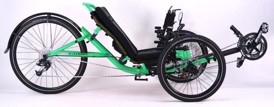 Catrike 5.5.9 Recumbent Trike-Recumbent Trikes-Catrike-Eon Green-Standard-Voltaire Cycles of Verona