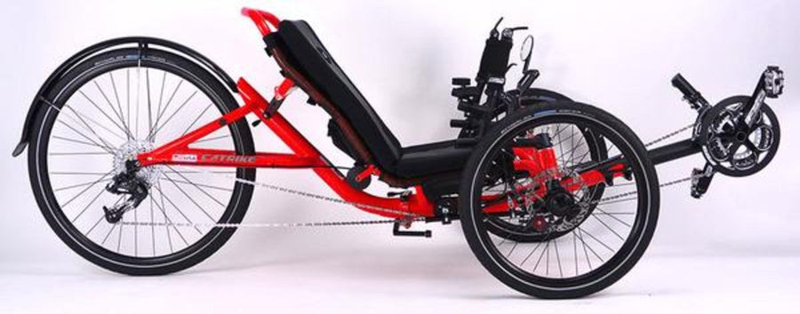 Catrike 5.5.9 Recumbent Trike-Recumbent Trikes-Catrike-Lave Red-Standard-Voltaire Cycles of Verona