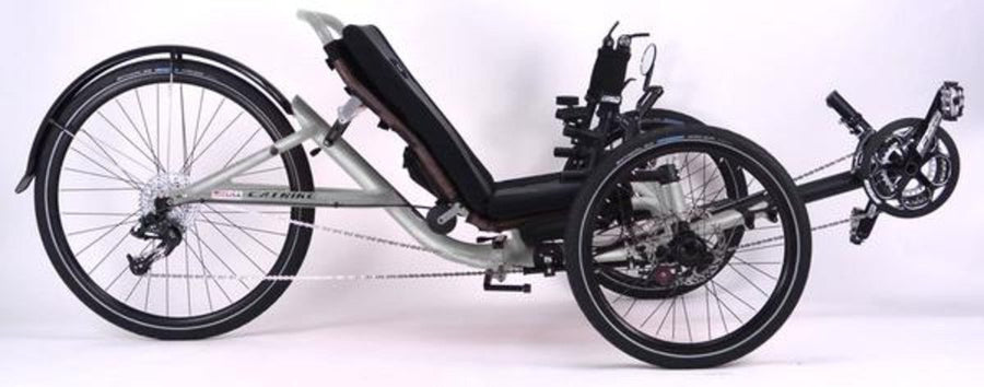 Catrike 5.5.9 Recumbent Trike-Recumbent Trikes-Catrike-Moon Rock Silver-Standard-Voltaire Cycles of Verona