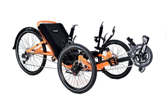 Catrike 5.5.9 Recumbent Trike-Recumbent Trikes-Catrike-Voltaire Cycles of Verona