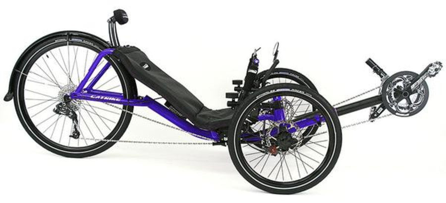 Catrike Expedition-Recumbent Trikes-Catrike-Candy Purple-Standard-Voltaire Cycles of Verona