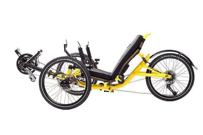 Catrike Trail-Recumbent Trikes-Catrike-Atomic Orange-Standard-Voltaire Cycles of Verona