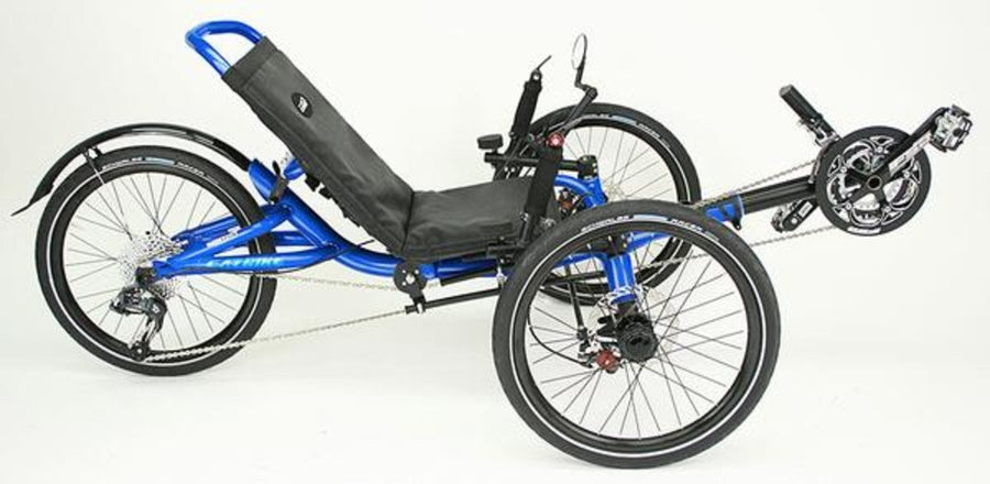 Catrike Villager - FLOOR MODEL - Electric Blue-Recumbent Trikes-Catrike-Voltaire Cycles of Verona