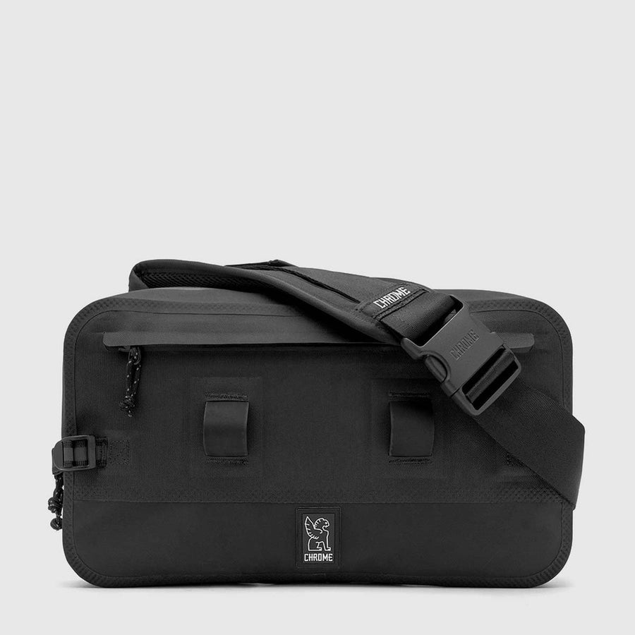 Chrome Urban Ex Sling 10L-Bicycle Messenger Bags-Chrome-Black/Black-Voltaire Cycles of Verona