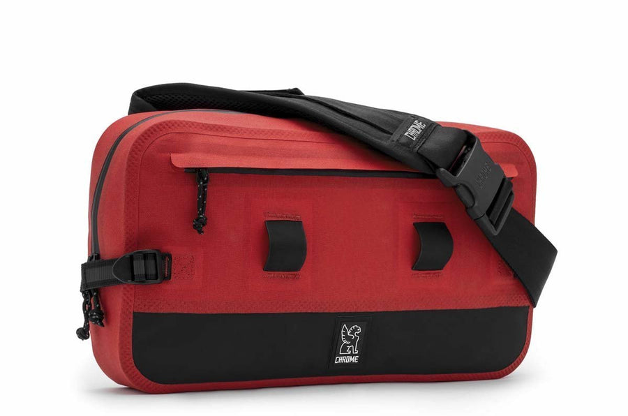 Chrome Urban Ex Sling 10L-Bicycle Messenger Bags-Chrome-Red/Black-Voltaire Cycles of Verona