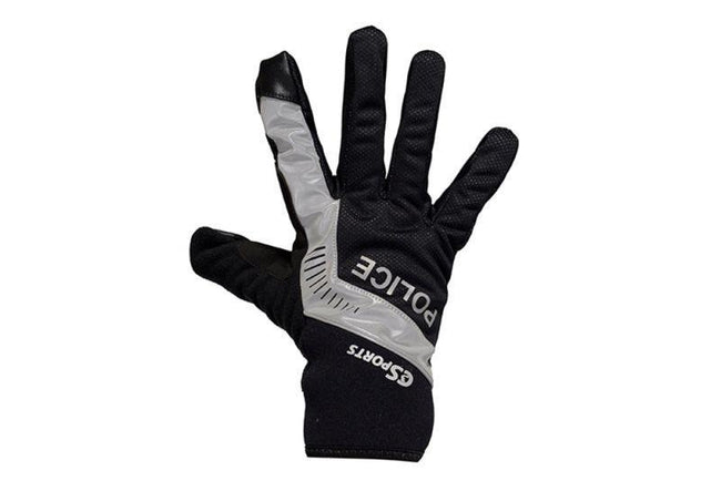 Cold Weather Gloves with Police Logos-Police Accessories-C3Sports-Voltaire Cycles of Verona