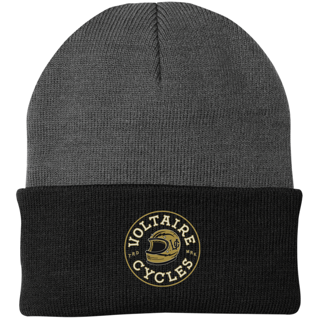 CP90 Port Authority Knit Cap-Apparel-CustomCat-Voltaire Cycles of Verona