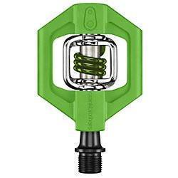 Crankbrothers Candy 1 Dual-Sided Clipless Pedals-Bicycle Pedals-CrankBrothers-Green-Voltaire Cycles of Verona