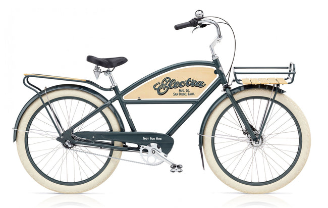 Cruiser Classic Delivery 3i-Basic Bicycles-Electra-Voltaire Cycles of Verona