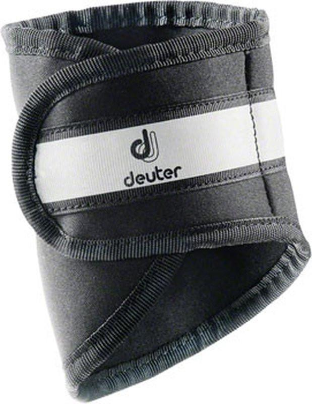 Deuter Pants Protector Reflective Legband Black-Bicycle Accessories-Deuter-Voltaire Cycles of Verona