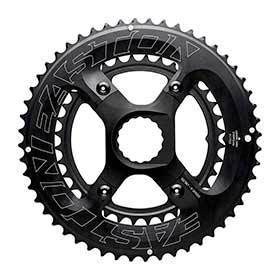 Easton 4 Bolt 34t Chainring 11sp Bcd: 64/104 Aluminum Black-Chainrings-Easton Cycling-Voltaire Cycles of Verona