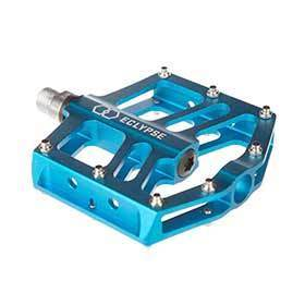 Eclypse Ralb Platform Pedals Body: Alloy Spindle: Cr-Mo 9/16 Blue Pair-Pedals-Eclypse-Voltaire Cycles of Verona