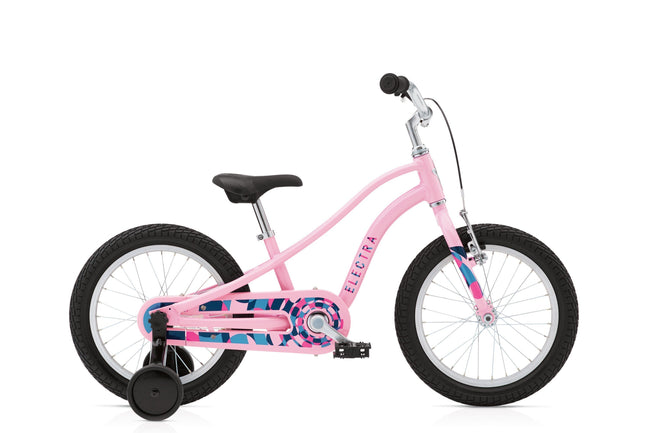 Electra Sprocket 1 16 inch Girls's Bicycle-Basic Bicycles-Electra-Bubblegum Pink-Voltaire Cycles of Verona