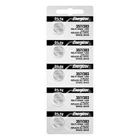 Energizer 357/303 Ts Silver Oxide Cd/5-Batteries-Energizer-Voltaire Cycles of Verona