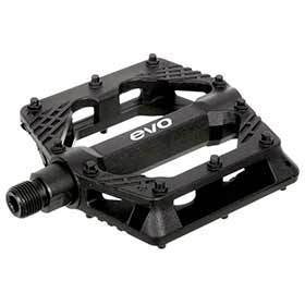 Evo Freefall Sport Platform Pedals Body: Nylon Spindle: Cr-Mo 9/16 Black Pair-Pedals-EVO-Voltaire Cycles of Verona