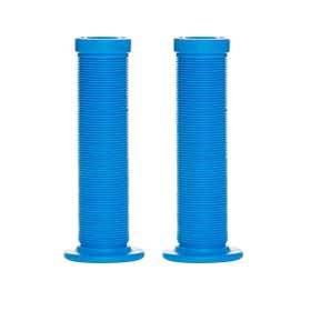 Evo Gripton Bmx Slip-On Rubber Grips 130mm Blue-Grips and Handlebar Tape-EVO-Voltaire Cycles of Verona