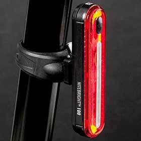 Evo Nitebright 100 Light Rear Black-Lights-EVO-Voltaire Cycles of Verona
