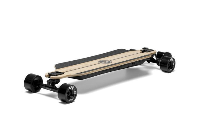 Evolve Bamboo GTR Street Skateboard-Electric Skateboard-EVOLVE-Evolve GTR 97mm 76a Black Wheels-Voltaire Cycles of Verona
