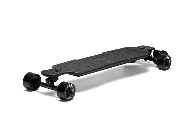 Evolve Carbon GTR Street Skateboard-Electric Skateboard-EVOLVE-Evolve GTR 97mm 76a Black Wheels-Voltaire Cycles of Verona