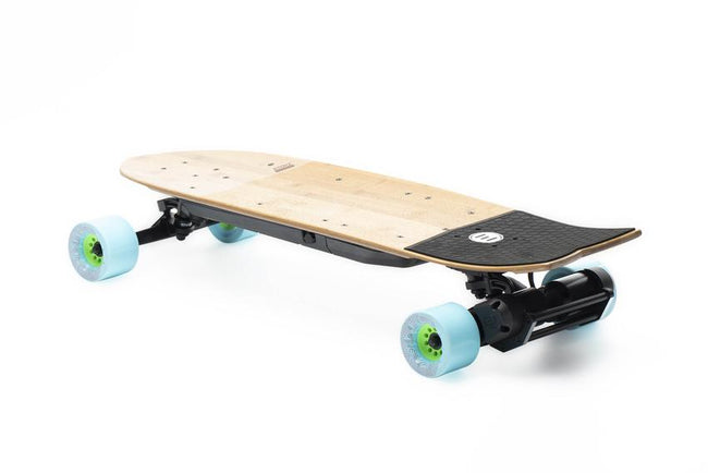 Evolve Stoke Skateboard-Electric Skateboard-EVOLVE-Caguama Blue (85mm - 77a)-Voltaire Cycles of Verona