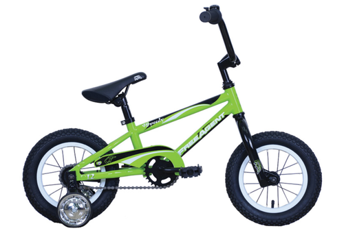 Free Agent Lil Speedy Kids Bicycle (Lime)-Basic Bicycles-Free Agent Bicycles-Voltaire Cycles of Verona