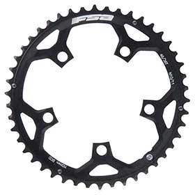 Fsa 50t 10/11sp Bcd: 110mm 5 Bolts Pro Road Outer Chainring For Double Aluminum Black 371-0250f-Chainrings-FSA-Voltaire Cycles of Verona