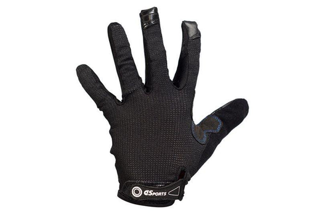 Full Finger Gloves with No Logos-Police Accessories-C3Sports-Voltaire Cycles of Verona