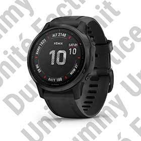 Garmin Dummy Unit Fenix 6s (Pro) - Black With Black Band-Merchandising-Garmin-Voltaire Cycles of Verona