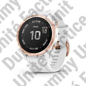 Garmin Dummy Unit Fenix 6x (Pro) Rose Gold-Tone With White Band-Merchandising-Garmin-Voltaire Cycles of Verona