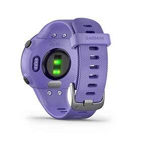 Garmin Forerunner 45 Small Watch Watch Color: Purple Wristband: Purple - Silicone 010-02156-01-Computers and Watches-Garmin-Voltaire Cycles of Verona