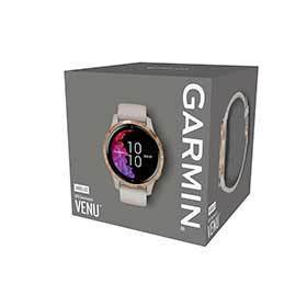 Garmin Venu Watch Watch Color: Sand Wristband: Sand - Silicone 010-02173-21-Computers and Watches-Garmin-Voltaire Cycles of Verona