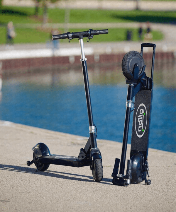 Glion Dolly Electric Scooter 225-Electric Scooter-Glion-Voltaire Cycles of Verona