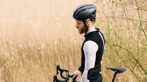 Harrier Road Helmet White / Light Grey - by Brooks-Helmets-Brooks England-Voltaire Cycles of Verona